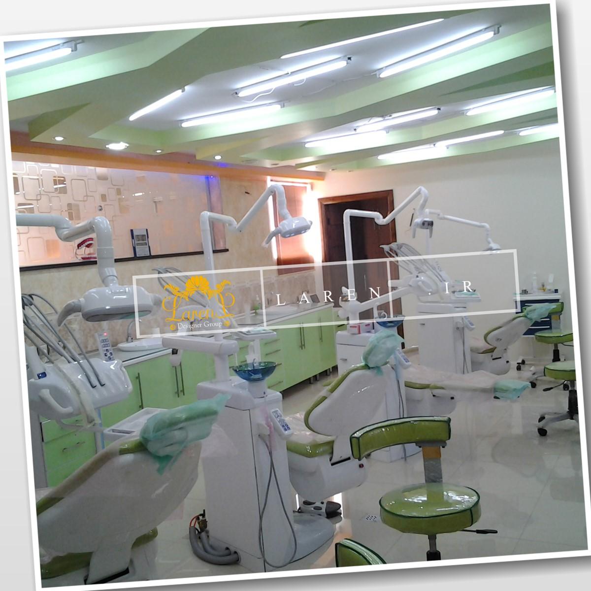 طراحی کلینیک دندانپزشکی اصفهان