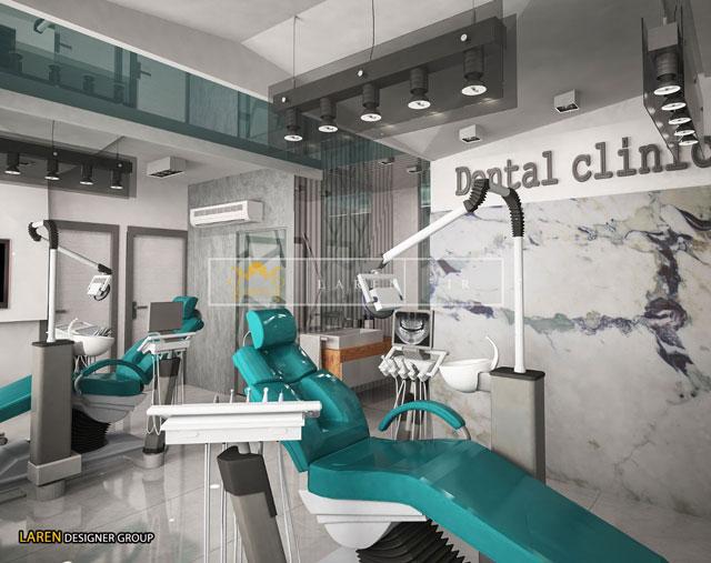 دکوراسیون مطب دندانپزشکی تهران