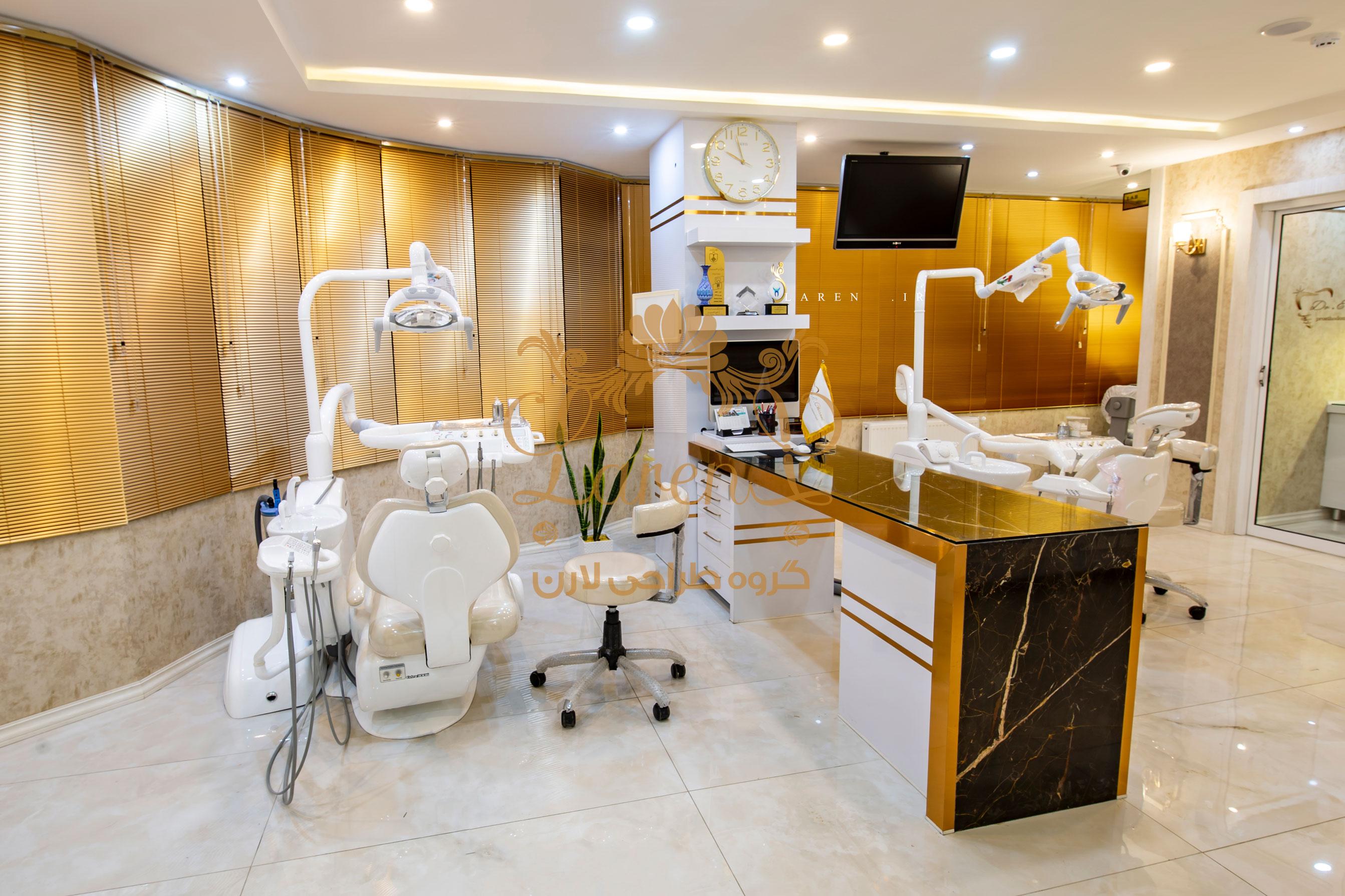 دکوراسیون دندانپزشکی مطب دندانپزشکی
