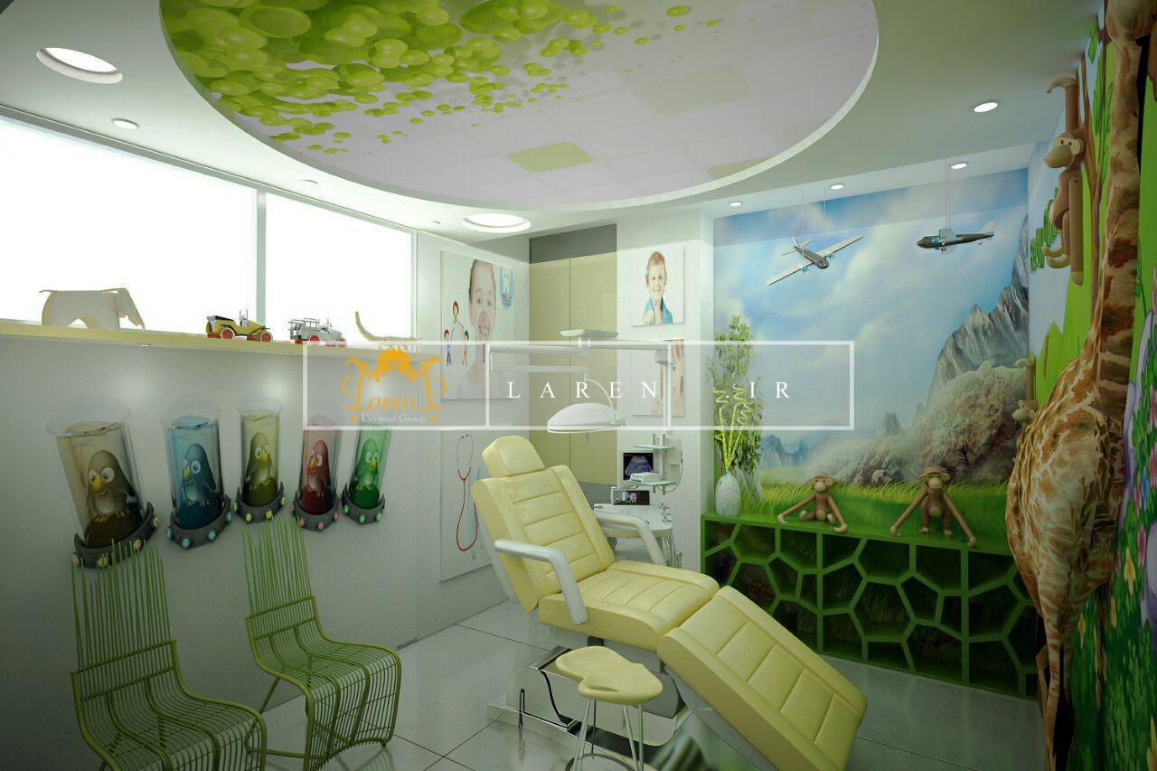 طراحی مطب دندانپزشکی کودکان